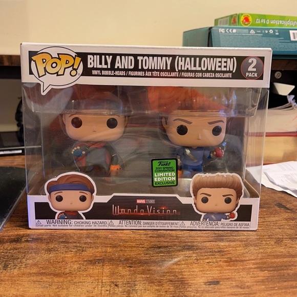 Funko WandaVision Billy & Tommy Limited Edition